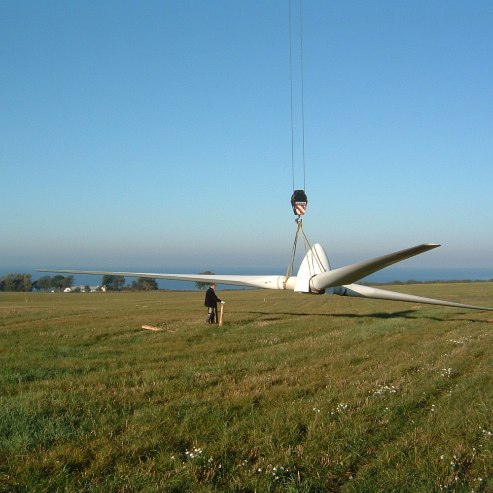 second hand wind turbines used wind turbines dismantling and transportation