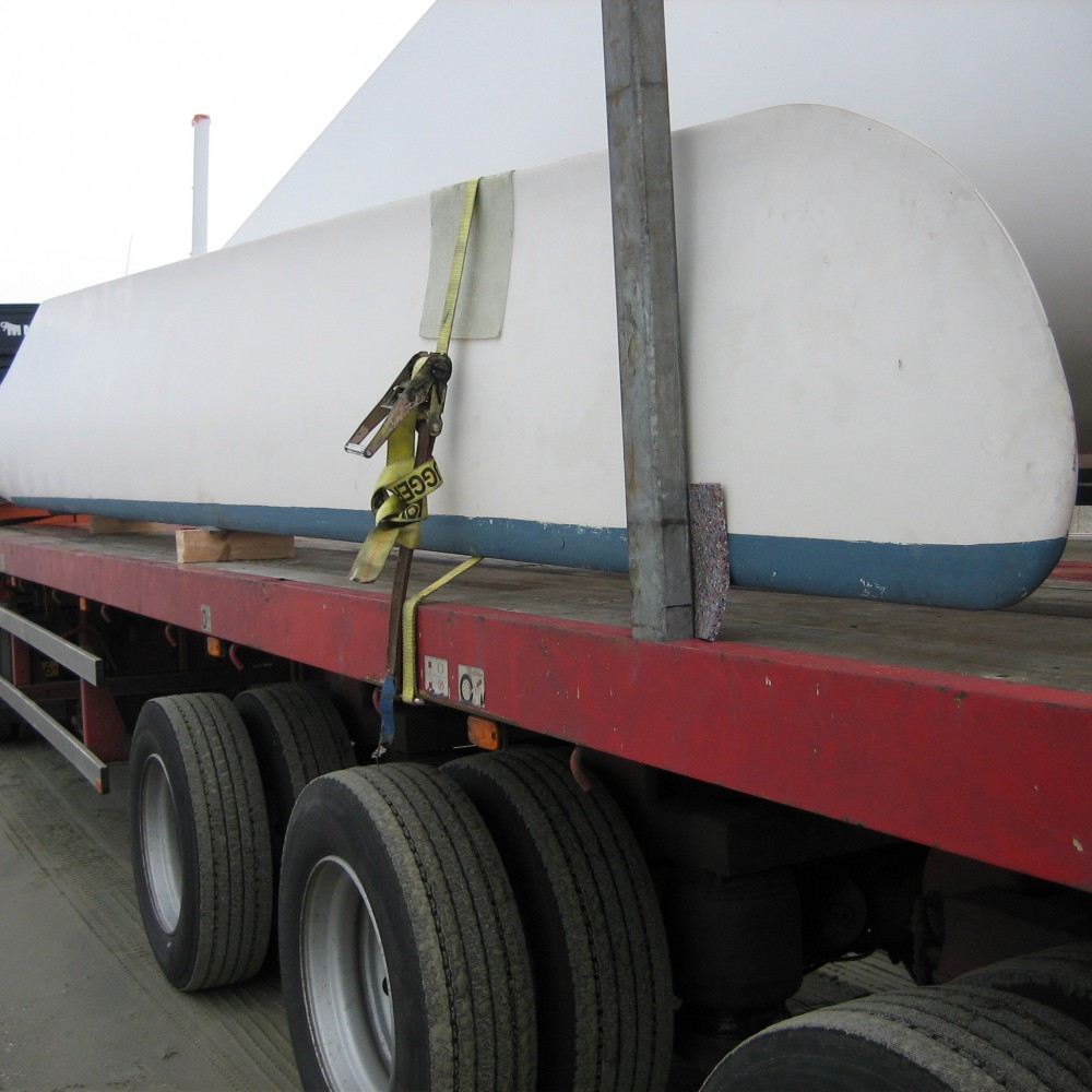 used wind turbines on transport dutchwind