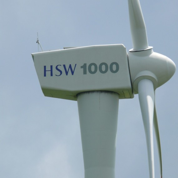 Used HSW1000 Dutchwind Used Wind turbines