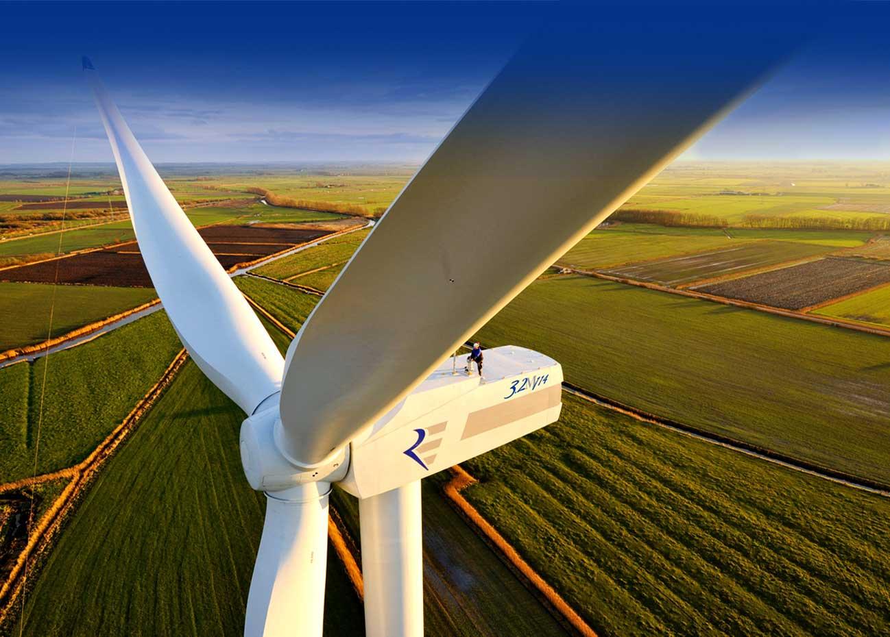 Vermarktung gebrauchter Windenergieanlagen used wind turbines